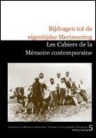 Les Cahiers de la mémoire contemporaine 5 2003-2004