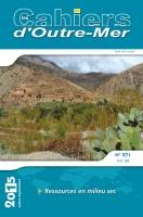 N°271 (Juillet-Septembre 2015) - Ressources en milieu sec