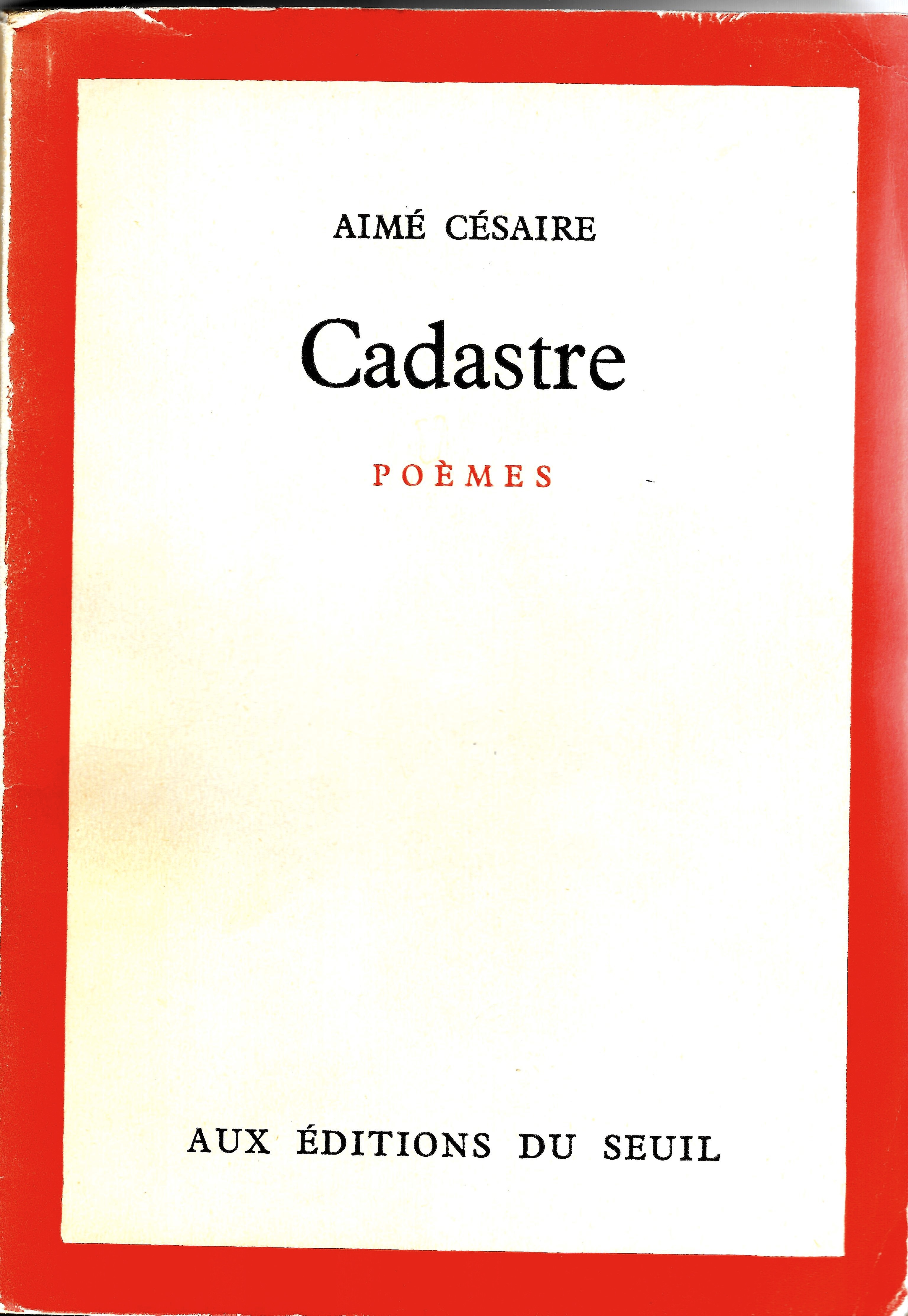 Aimé Césaire La Quête Du Nègre Fondamental