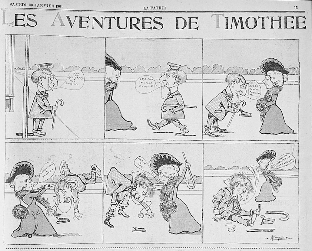 Top La naissance de la bande dessinée de langue française VY88