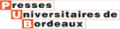 Logo Presses universitaires de Bordeaux