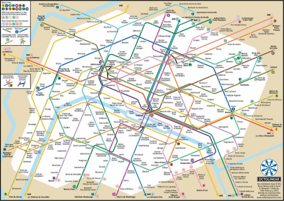 plan-metro-paris - Photo