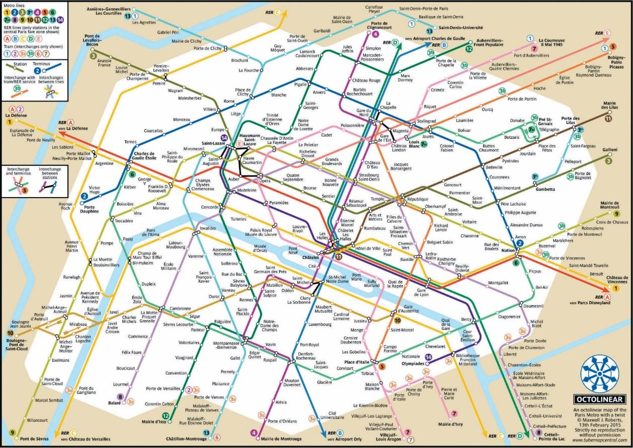 plan-de-metro-paris - Photos