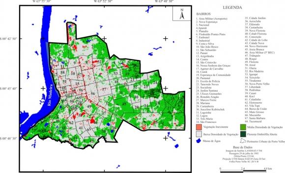 3bb75f8cdfcc2 Figura 07 – Carta de Índice de Vegetação por Diferença Normalizada (NDVI)  da área