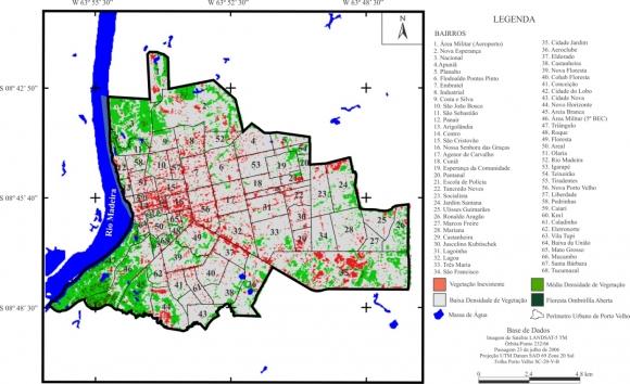 ed29b20da90c1 Figura 09 – Carta de Índice de Vegetação por Diferença Normalizada (NDVI)  da área