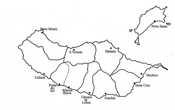 mapa da madeira detalhado A emigração da Madeira para São Paulo no final do século XIX  mapa da madeira detalhado