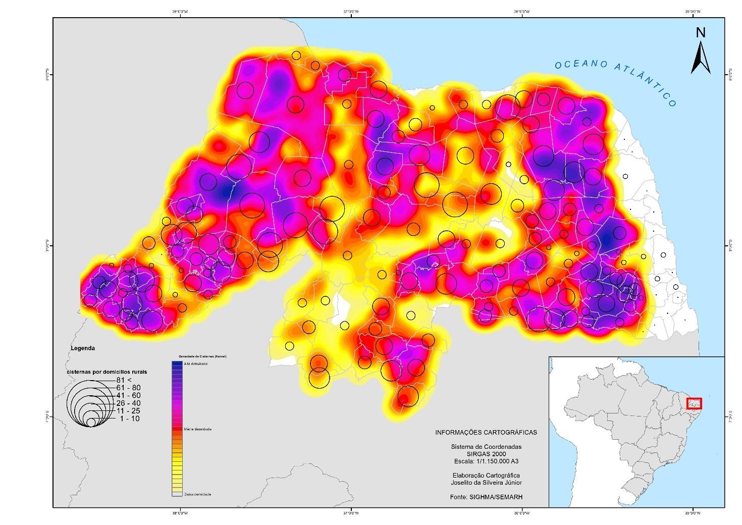 Cartografia do saneamento básico do Rio Grande do Norte cd26b9479b4