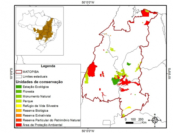 O papel da dimensão ambiental na ocupação do MATOPIBA
