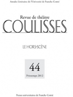 Couverture du n° 44 | Printemps 2012 de Coulisses