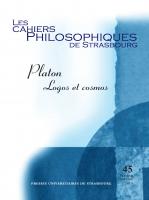 Couverture du n° 45| 2019, Platon. Logos et cosmos