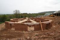 Projet de construction en bauge traditionnelle dans le Devon