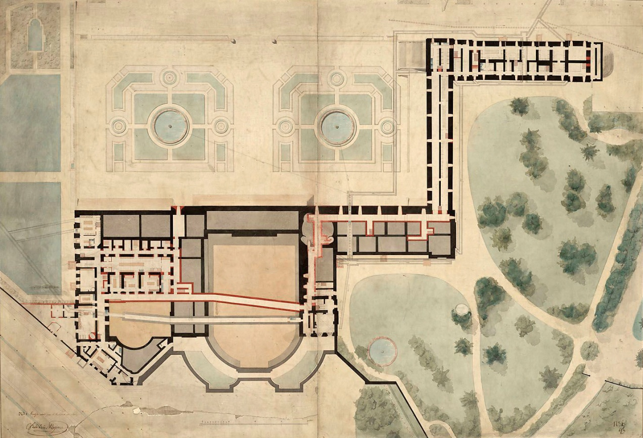 L appartement de louis philippe ier au grand trianon for Plan trianon salle