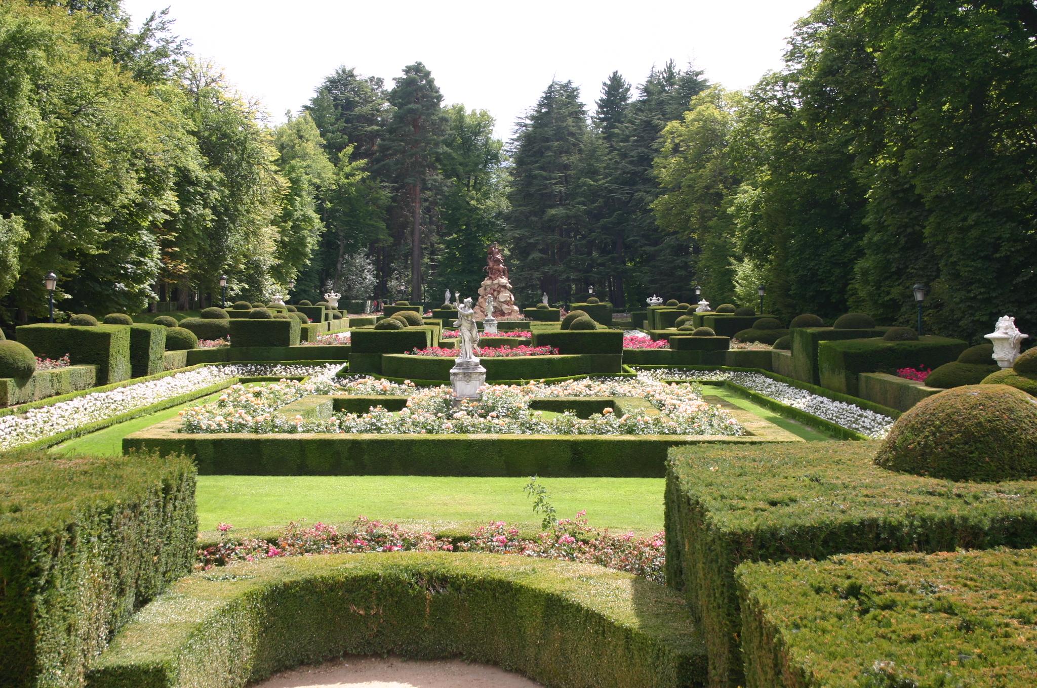 Los jardines de la Granja de San Ildefonso Felipe V entre Marly y