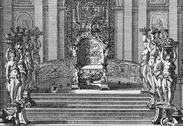 Insignes Du Pouvoir Et Usages De Cour A Versailles Sous Louis Xiv