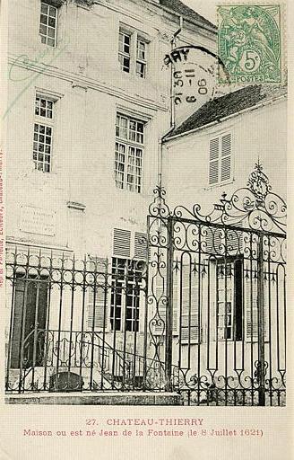 Qui rencontre jean de la fontaine en 1657