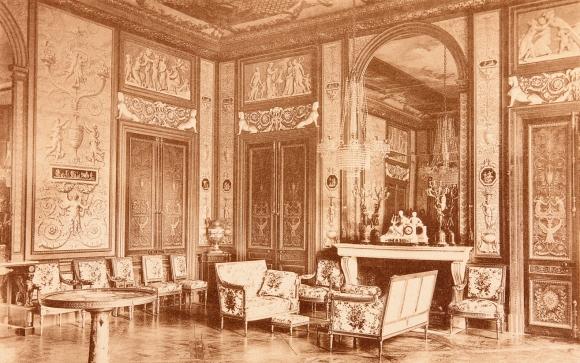 Le grand salon de l imp ratrice au ch teau de - Salon du mobilier paris ...