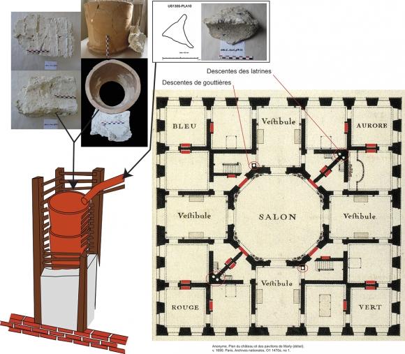 l usage du pl tre dans le ch teau de marly de la construction au d cor. Black Bedroom Furniture Sets. Home Design Ideas