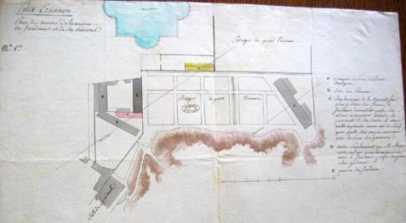 La maison du jardinier for Plan de projet pour la construction d une maison