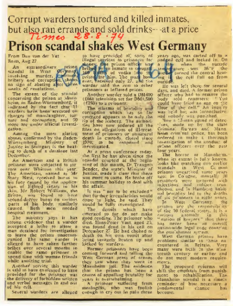 Times, 28. August 1974