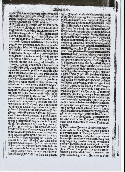 La hagiografía ante la censura: el ejemplo de dos Flores