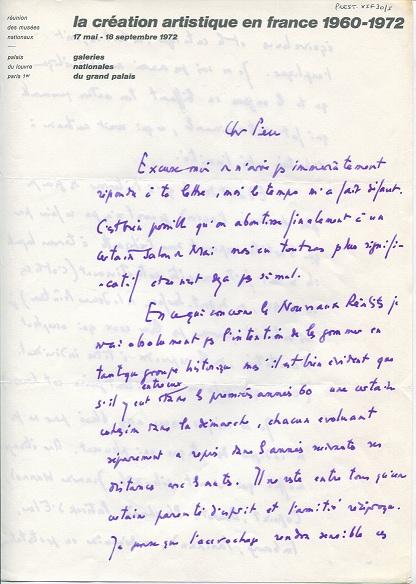 lettre de critique