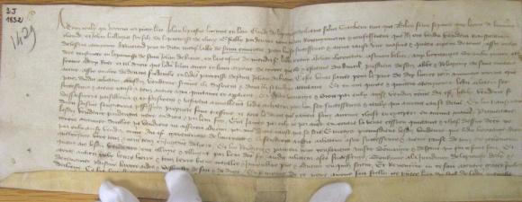 L Utilisation Des Actes D Apres Les Registres Notaries Orleanais Du