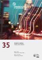 Cover of Comunicação e Sociedade 35 | 2019