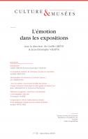 Culture & Musées 36 | L'émotion dans les expositions