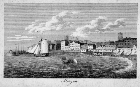 Figure 1 — 'Margate', in John Feltham, A Guide to all the Watering and Sea-Bathing Places. 1803. London: Longman, Hurst, Rees, Orme & Brown, 1813, 304.