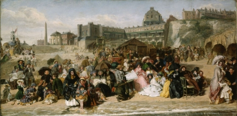 Figure 2 — William Powell Frith, Ramsgate Sands (Life at the Seaside), 1852-54, oil on canvas, 77 × 155,1 cm
