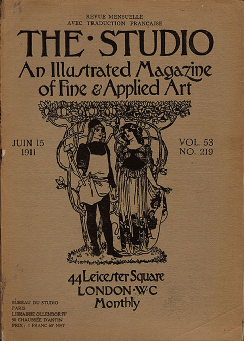 The Studio And The Craftsman As Artist A Study In Periodical Poetics 1893 1900