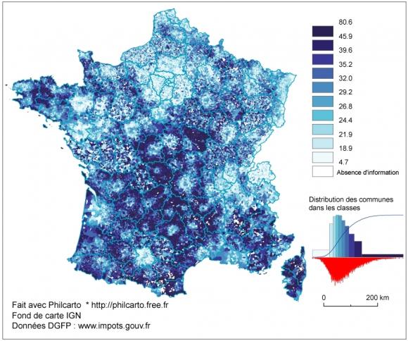 Fiscalite Et Territoire En France L Impot Sur Le Revenu Des
