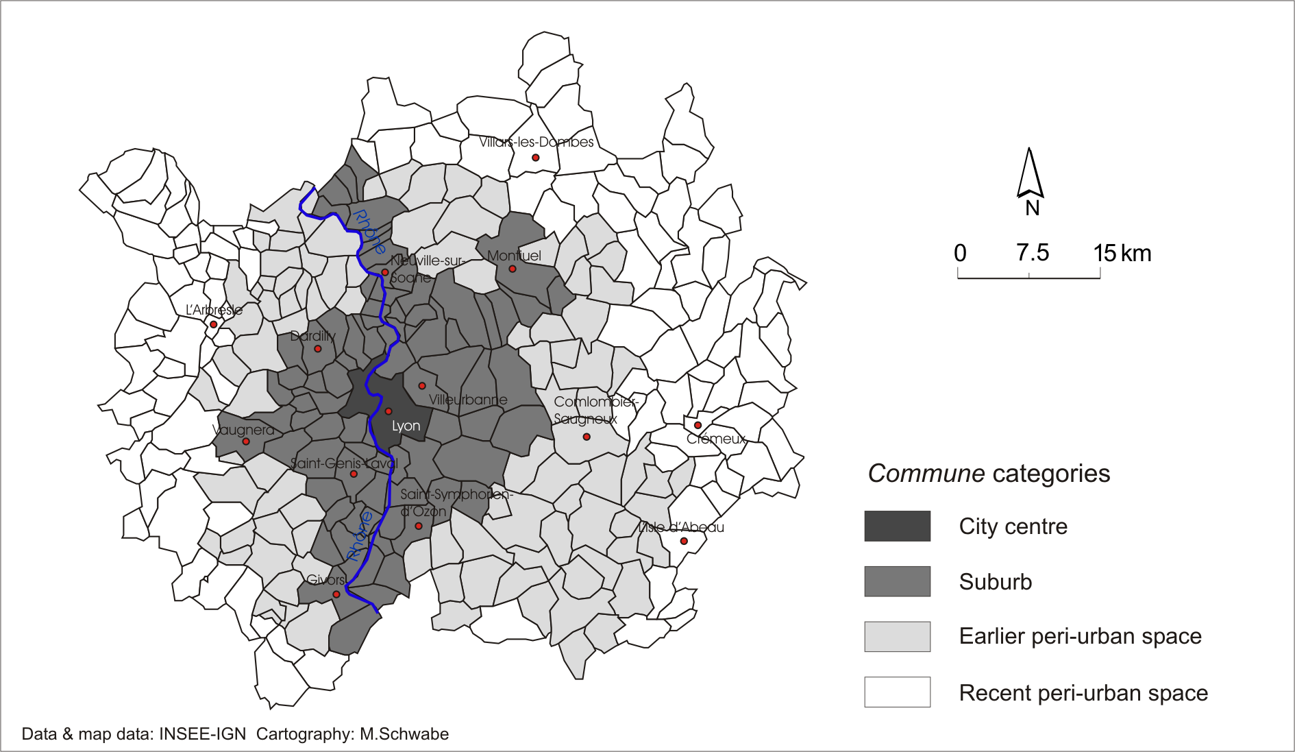 Residential Segregation In The Largest French Cities 1968 1999 In