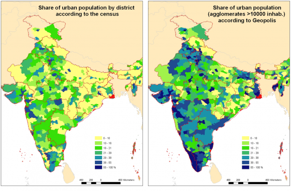 Toward a better appraisal of urbanization in India