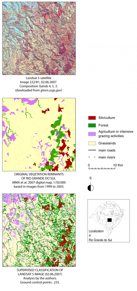 Strategies Of Environmental Knowledge Production Facing Land