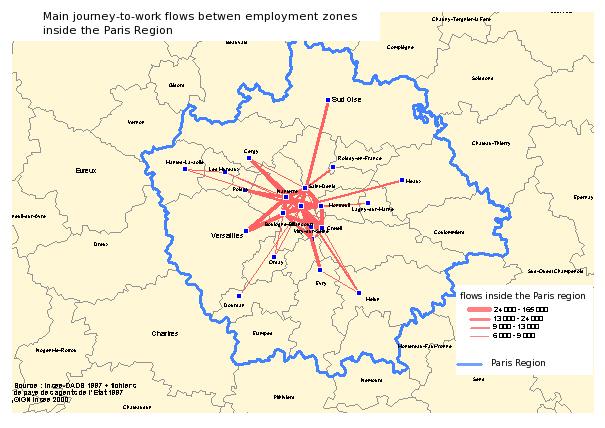 The Paris Basin a metropolitan region