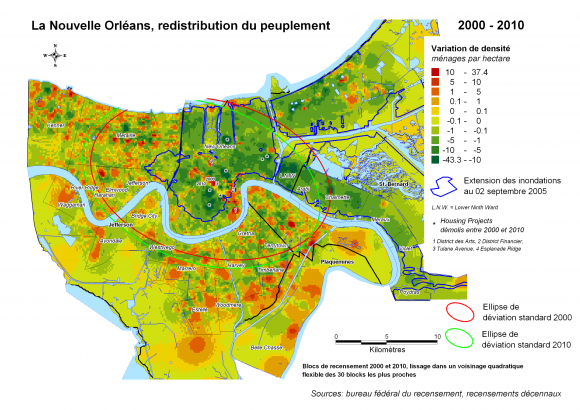 Adaptation urbaine post catastrophe : la recomposition