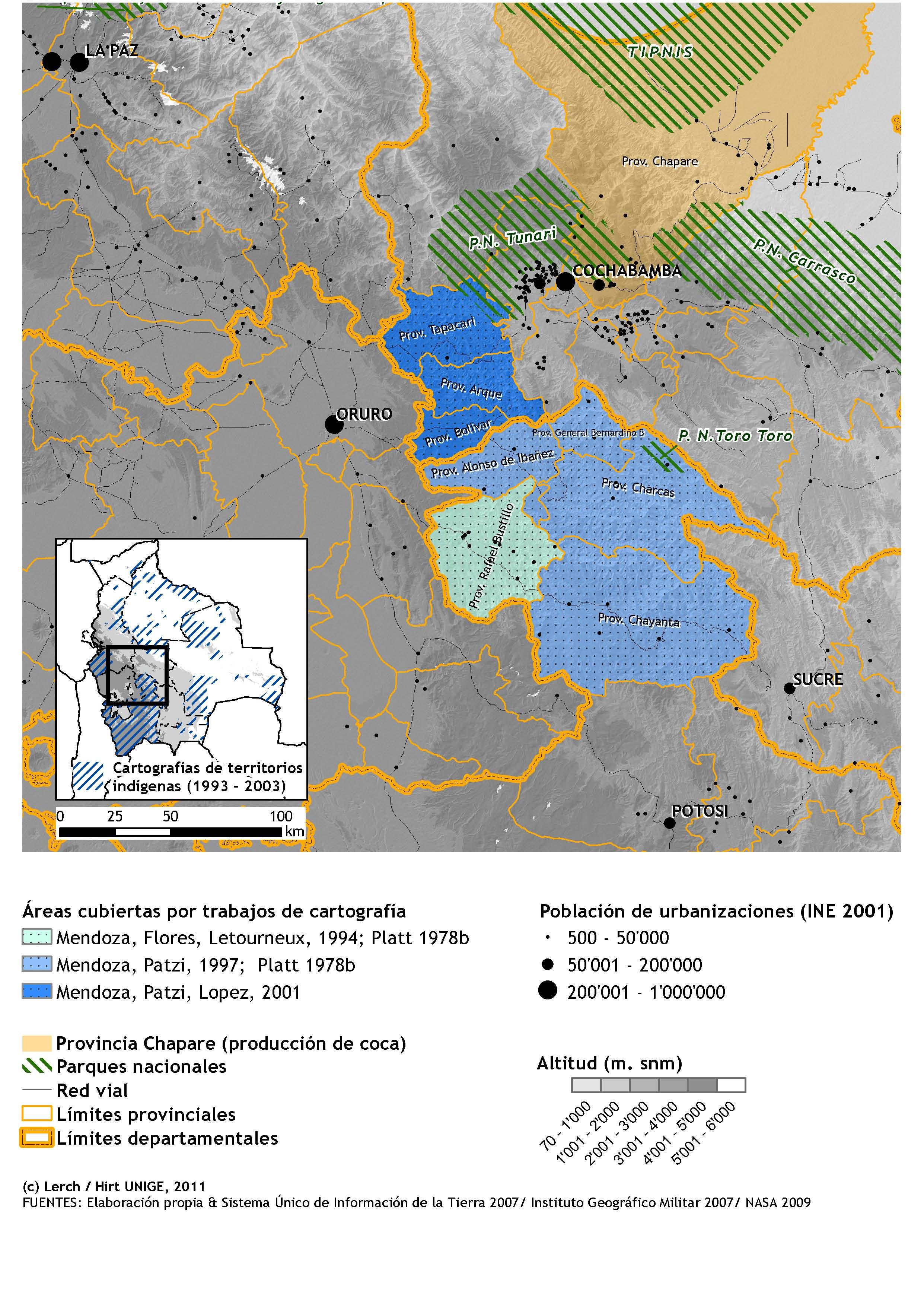 Cartografiar Las Territorialidades Indígenas En Los Andes
