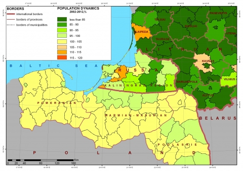 The Russian exclave of Kaliningrad  Challenges and limits of its