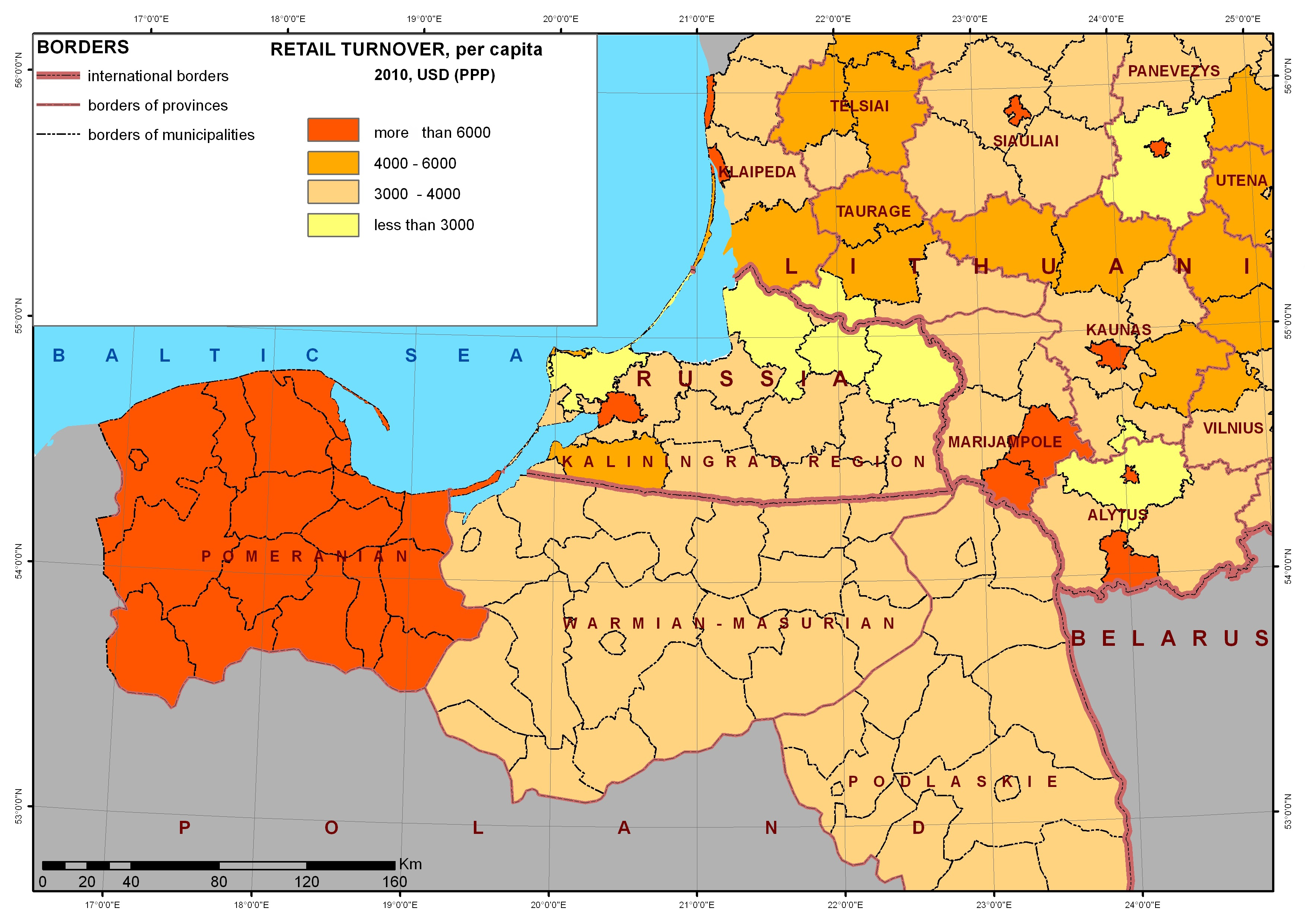 The Russian exclave of Kaliningrad. Challenges and limits of