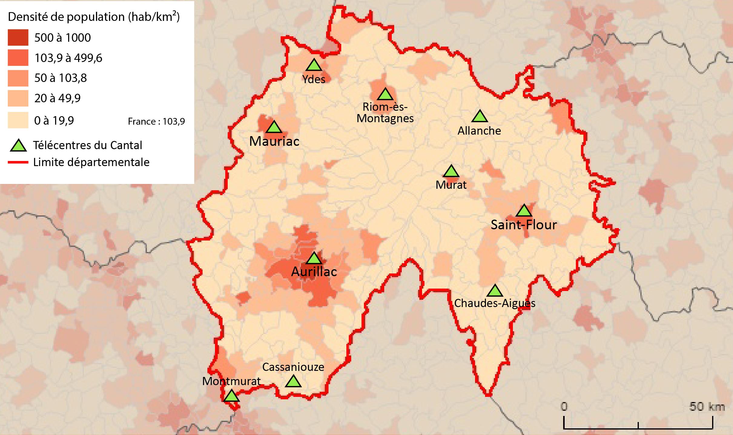 9485468f0637fc Localisation et effets des télécentres dans les territoires ruraux ...