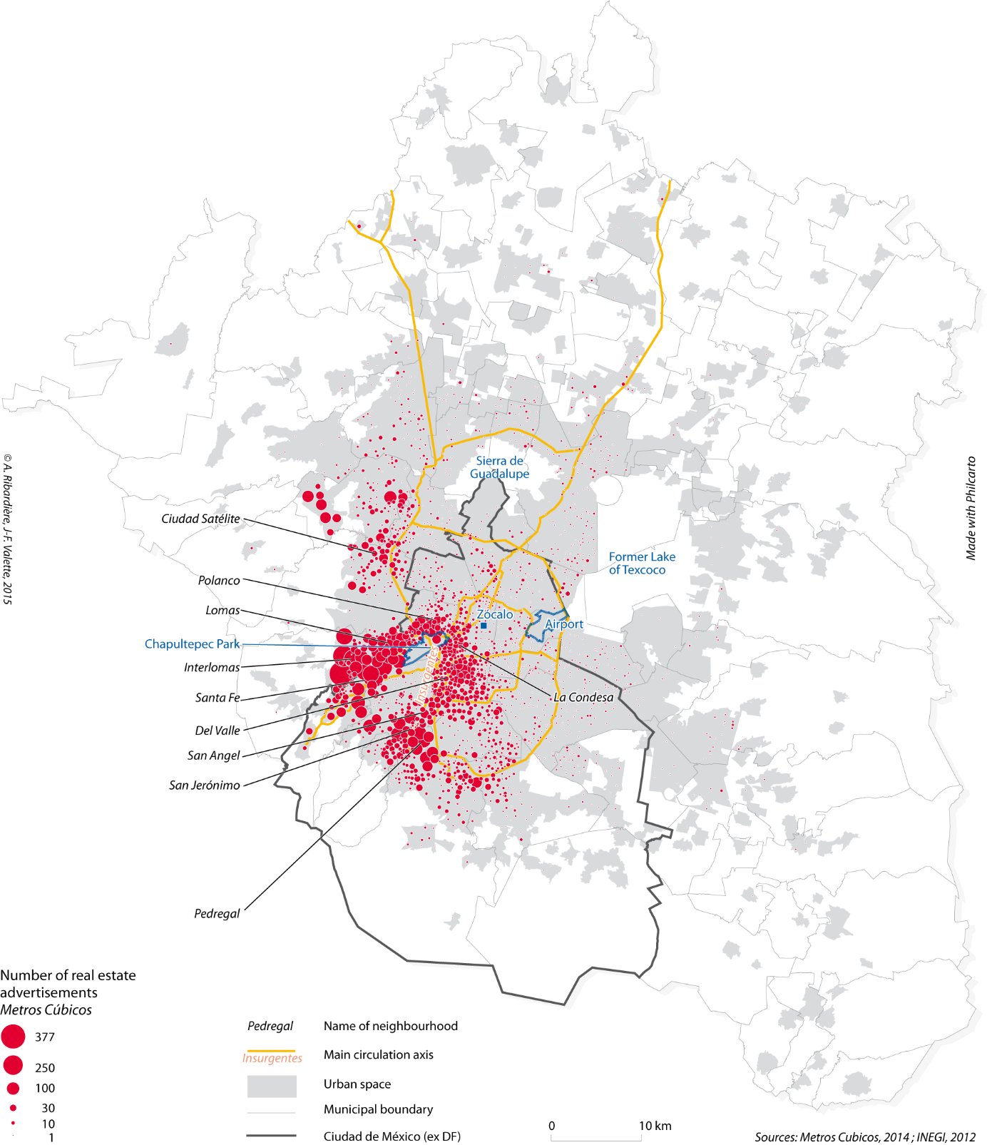 Geography Of Real Estate Prices In Mexico City Variability And Heterogeneity Of Values Recorded In Online Advertisements