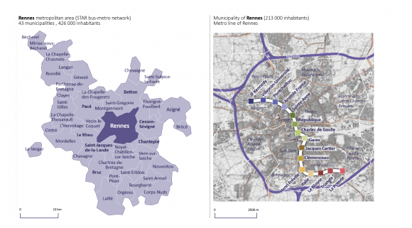 Intermodal mobility analysis with smart card data Spatio