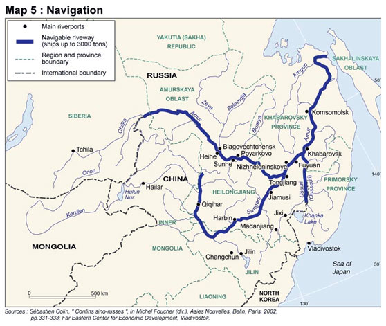The Amur River border Once a symbol of conflict could it turn