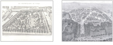 Fig. 1 : Le « park system » proposé par Frederick Law Olmsted à Boston (Massachusetts)
