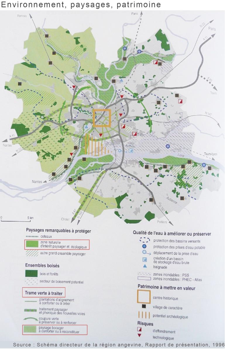 Planifier les trames vertes dans les aires urbaines une for Espace vert synonyme