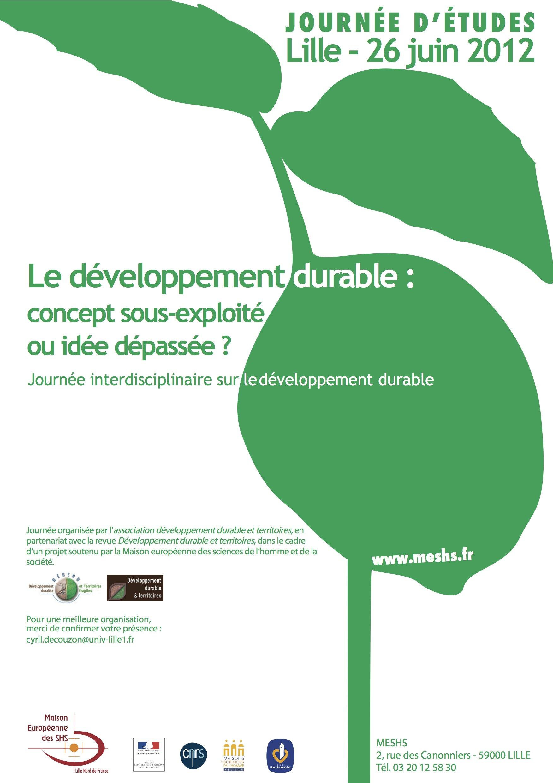 éditorial Le Développement Durable En Transition