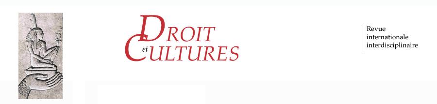 Droit et cultures