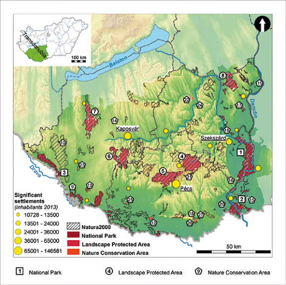 Geohazards Of The Natural Protected Areas In Southern Transdanubia