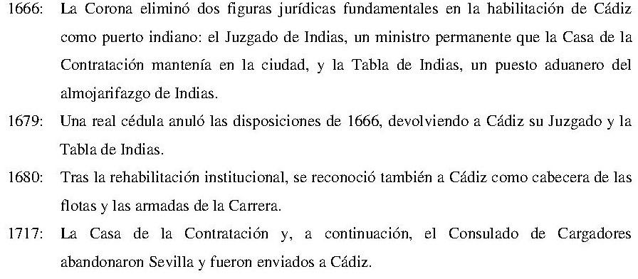 La Carrera de Indias (1650-1700): Continuidades, rupturas ...